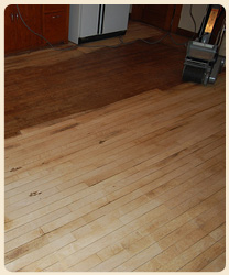 wood floor sanding and refinishing